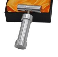 алюминиевые цилиндры оптовых-Металлический алюминиевый прижимной дыма точильщик аксессуары цилиндр бар давление