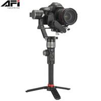 estabilizador de cámara para dslr al por mayor-Estabilizador cardán AFI D3 para cámara DSLR Handheld Gimbals 3-Axis Video Mobile para todos los modelos de DSLR con Servo Follow Focus