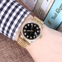 relógio de marca prata venda por atacado-2017 nova moda homens big watch verde de aço inoxidável de alta qualidade do sexo masculino relógios de quartzo homem marca relógio de pulso de prata / ouro frete grátis