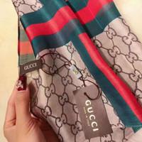 prix des écharpes achat en gros de-2019 foulard fabricants prix de gros HOT100% soie foulard en été cacao mode fille accessoires foulard foulard femme 180X70