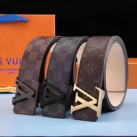 Wholesale High Waist Leather Hot Pants - Men Belts smooth Letter Luxury High Quality white Belts Jeans Pants 2017 hot sale Genuine Leather Unisex Strap belt 34 waist free shipping