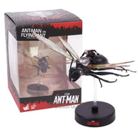 Wholesale mini figure marvel for sale - Group buy Hot Toys Marvel ANT MAN on Flying Ant Miniature Collectible Mini PVC Figure Model Toy cm