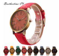 Wholesale quartz cloth - Xiniu New Brand Fashion Women Men Denim Cloth Strap Bracelet Wrist Watch Unisex Analog Quartz Watches Wrist Watch Date Clock
