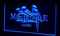 signos margaritaville al por mayor-LS058-b Jimmy Buffett Margaritaville Letrero de neón Decoración Envío gratis Dropshipping Al por mayor 8 colores para elegir