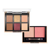 тени для век блеск бронзы оптовых-Eyeshadow Pallete Nude  Glitter O.TWO.O Eye Shadow Matte Pigment Red Shimmer Peach Bronze Nude Paleta De Sombra