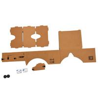 картон оптовых-Mobile phone cardboard quality 3D Virtual Reality Glasses