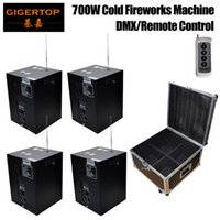 Wholesale fountain machines online - Freeshipping TIPTOP Cold Spark Machine Cold Spark Fountain Cold Fireworks for Weddings Meeting Ceremony Gold Silver Spray in1 Flightcase