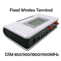 sistema de alarma gsm dialer al por mayor-ALK Terminal inalámbrico fijo GSM 850/900/1800 / 1900MHz, GSM Dialer 2 SIMs, doble modo de espera, sistema de alarma de soporte, PABX