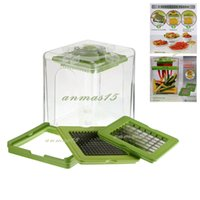 Vendita calda !!! 1 PCS Chop Magic Chopper Cutter Verdure Fruit Slicer Dicer Tools Appositamente progettato per la cucina