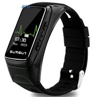 хорошие марки для гарнитур оптовых-AKASO Waterproof Heart Rate Smart Watch Earset Headset Bracelet Fitness B7 Smart  Watch wristband Good Quality