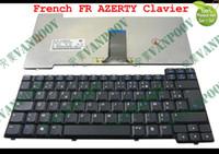 laptop hp pavilhão venda por atacado-Novo Teclado portátil para HP Compaq Presario X1000 X1100 NX7000 NX7010 Pavilion ZT3000 ZT3400 Preto Francês FR AZERTY - 337016-051