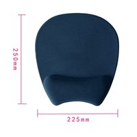 ingrosso rilievo di topi del silicone-Etmakit Brand New Optical Trackball PC Addensare MO-505 Gel di silicone Mouse Pad Support Polso Comfort Mouse Pad Mat Mouse