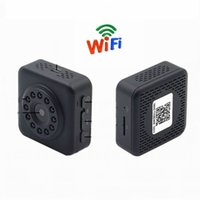 Wholesale door cameras monitor for sale - New WiFi Wireless HD P Monitor Night Vision Mini Camera Recorder with Clip Out Door Sport Camera Home Security Mini DV
