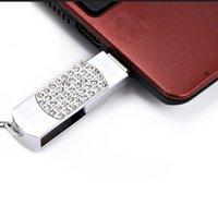 mémoire flash usb 128 achat en gros de-Vente chaude !! Nouveau cristal Verrouillage Portable 16GB-128 GB Clé USB Flash Drive Clé USB