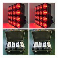 luz de la etapa cegadora al por mayor-8 piezas con caja 16 cabezas * 30W rgb cob matriz matriz iluminación de escenario DMX Etapa Blinder Matriz Haz Tv Matriz de luz luz