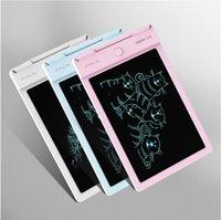 comprimés jouets achat en gros de-Tablette d'écriture numérique portable de planche à dessin avec écran LCD d'écriture + stylo de dessin