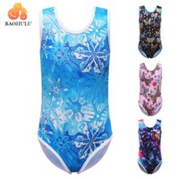 Wholesale kids gymnastic dress - BAOHULU Professional Ballet Dress Leotards for Girls Child Dance Sleeveless Skate Gymnastics Leotard Acrobatics Kids Dancewear