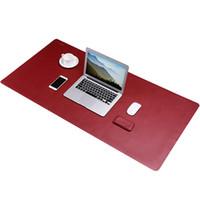 almofadas de escritório venda por atacado-Bestjing Vermelho Ultra Grande Tamanho Gaming Mouse Pad para PC Computador Portátil Dupla Face Design Notebook Mat Desk Para Home Office