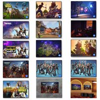 Wholesale large canvas wall art wholesale - Fortnite Battle Royale Game Poster Wall Painting Posters And Prints Canvas Art Wall Pictures Game Poster Wall Stickers 13styles