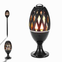Wholesale Patio Garden Table - LED Flame Atmosphere Table Lamp Fire Light Bulb Waterproof LED Flicker Dancing Light Outdoor Landscape Lighting for Bar Garden Path Patio