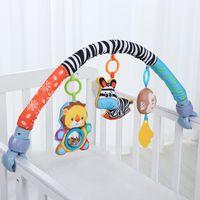 ensembles de literie usine achat en gros de-Lit de bébé pare-chocs autour de lit bébé poussette lit bébé accessoires musique infantile literie jouets usine prix vente vente en gros bateau gratuit