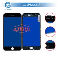 Wholesale cheap bar glasses - Bezel Touch Screen Frame for iPhone 6 plus Touch screen LCDFront Touch Panel Glass Lens Cheap Phone Accessories+ Free DHL Shipping