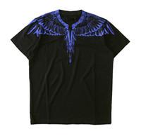 Wholesale shirt wings online – design Cool Burlon Tshirts Men Women Italy County of Milan Feather Wings MB T Shirt RODEO MAGAZINE Tee Fashion Men s T Shirts Drop Shipping