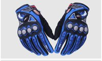 Wholesale bikers glove for sale - Group buy PRO BIKER Motorcycle Gloves Moto Racing Motorbike Motocross Motor Riding Cycling Bicycle Glvoes Black Red Blue Orange MCS