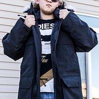 Wholesale Cheap Winter Coats Sale - Fashion Winter Down Parkas Man Expedition Brand Designer Jacket Men Design Parka Coat Outdoor Warm Coats XXXL Plus Size Cheap Sale