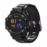 medidor hombre al por mayor-Smart Watch Hombres Brújula GPS F7 Smartwatches IP67 Waterproof 4.2 420mAh Altitude Meter Termómetro Frecuencia cardíaca