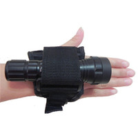 Wholesale scuba diving lights for sale - Group buy Durable Hand Free Light Holder Glove Underwater Scuba Diving Outdoor Torch Flashlight Support Arm Mount Strap New yk dd