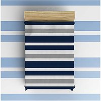 полосатое флисовое одеяло оптовых-Flannel Fleece Blanket Lightweight Cozy Bed Sofa Blankets Super Soft Fabric Grey, Blue and White Stripe Pattern