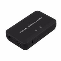 kulaklık amplifikatörü dac toptan satış-Freeshipping Kablosuz Bluetooth4.1 + EDR Kulaklık Amplifikatör 5 V Taşınabilir USB DAC Dahili Pil 300mA