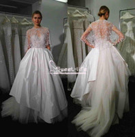 Wholesale Princess Cape Pink - Elegant Bohemian 2018 A line Wedding Dresses With Cape Sweetheart Neck Empire Tulle Floor Length abiti da sposa Illusion Bridal Gowns
