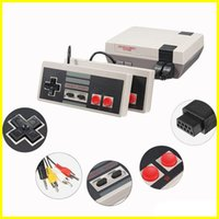 Wholesale copy machine wholesalers - New Arrival Mini TV 620 500 Game Console Video Handheld for NES games consoles with retail boxs hot sale dhl