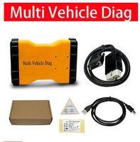 диагностический инструмент pro оптовых-НОВАЯ МОДЕЛЬ MVD mvddiag tcs cdp pro obd2 диагностический инструмент CDP Pro V 2015.3 бесплатный кейген с Bluetooth