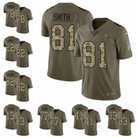 d042f72b4 Tennessee men Titans Olive Camo 2017 Salute to Service 8 Marcus Mariota 22  Derrick Henry 25 Asa Jackson Limited football jersey