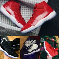 """Wholesale Rubber Numbers - With Box + Number """"45"""" 11 Spaces Jams Basketball Shoes for Men Women Gym Red 11s Sport Sneakers Midnight Navy"""