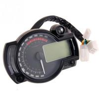 Wholesale instruments meter for sale - Group buy Motorcycle Digital speedometer LCD Gauge Speedometer Tachometer Odometer motorbike instrument color display oil level meter