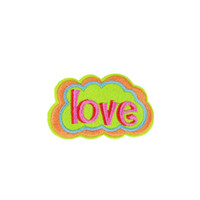 diy pc 2018 - 10 PCS Love Captions Embroidered Patches for Clothing Iron on Transfer Applique Patch for Dress Bags DIY Sew on Embroidery Badge