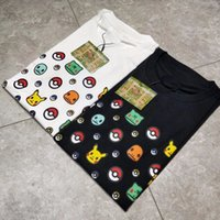 Wholesale quality portraits - BP Fashion T-shirt Family Portrait Short Sleeve High Quality Men And Women Round Neck Summer Cotton T-shirt S~XL HFBYTX013