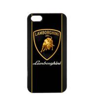 iphone 5s apfel-logo großhandel-Klassischer Lamborghini-Logo-Telefon-Kasten für Iphone 5c 5s 6s 6plus 6splus 7 7plus Samsungs-Galaxie S6 S7e