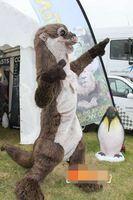 Wholesale adult sea costume - Custom Sea otter mascot costume Adult Size free shipping