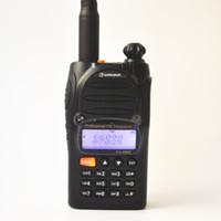 Wholesale walkie dtmf resale online - 2PCS Good Quality Wouxun KG E Handheld Walkie Talkie Two Way Radio Mhz IP55 Waterproof W Power DTMF CTCSS for Factory