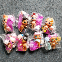 Wholesale baby girl doll bottle for sale - Group buy 8pcs LOL DOLL DIY wear clothes Bottle Girl lol Doll Baby Change with Glasses Action Figure Toys Kids Gift LOL toys for girls