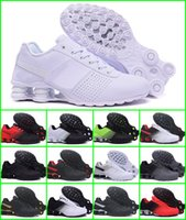 Wholesale nz running shoes - 2018 Shox Deliver 809 Men Air Running Shoes Drop Shipping Wholesale Famous DELIVER OZ NZ Mens Athletic Sneakers Sports Running Shoes US 7-12