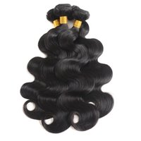 Wholesale 3 bundles of brazilian hair for sale - 8A Indian Body Wave Human Hair Weave Bundles Of Unprocessed Indian Virgin Hair Extensions Natural Color