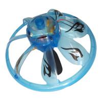 ingrosso rc senso-1Pc Induzione della mano UFO Flying Rc Sensing Aircraft UFO Sospeso Flywheel Sospeso Mini Drone Giocattoli all'aperto Colore casuale