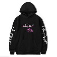 impressão nu 3d venda por atacado-Hip Hop Rapper Lil Peep Camisola Streetwear Hoodie Das Mulheres Dos Homens Hoodies 2018 Novo Pulôver Dos Homens de Manga Comprida Oversized 4XL