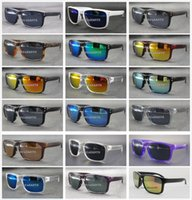 Wholesale classic fashion personality - New Hot Style Goggle Classic Personality Popular Vogue Casual Sport Mirror Outdoor Sun glasses Brand Design Hol brook Cycling Eyewear